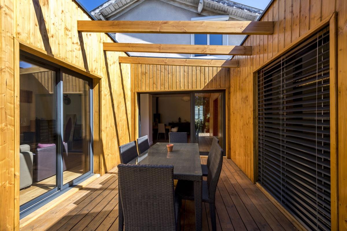 Réhabilitation et extension en bois : 13