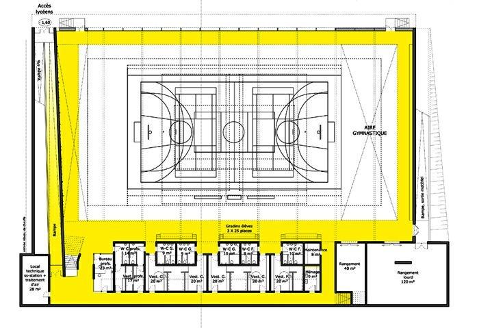 Extension restructuration du lycée H. Nessel-2004 : 16-HN-04