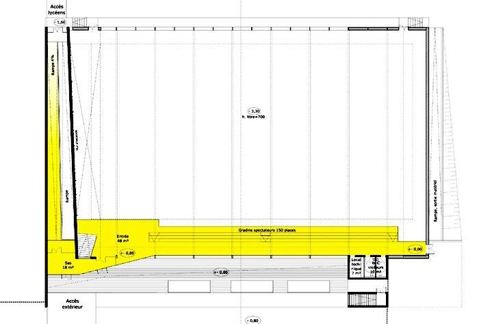 Extension restructuration du lycée H. Nessel-2004 : 16-HN-05