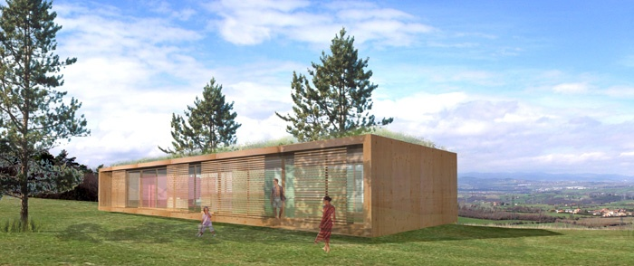 Maison contemporaine bois & paille : image_projet_mini_13508