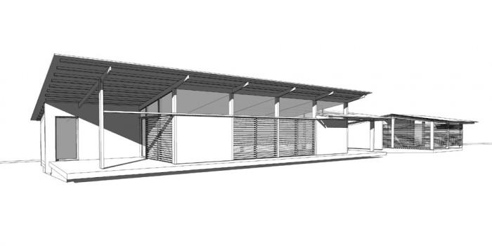 Maison bois bioclimatique / Basse énergie : 06_maison bois bioclimatique