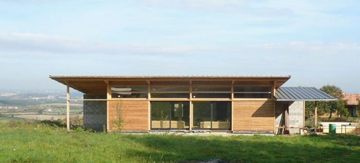 Maison bois bioclimatique / Basse énergie : image_projet_mini_13566