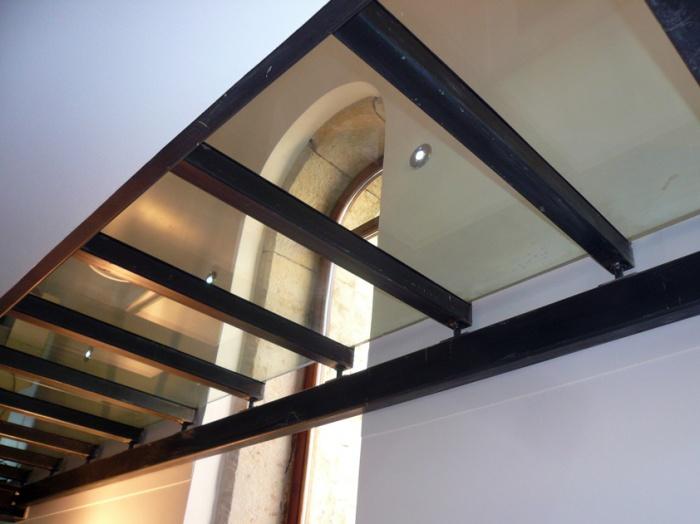 Appartement dans une chapelle : detail