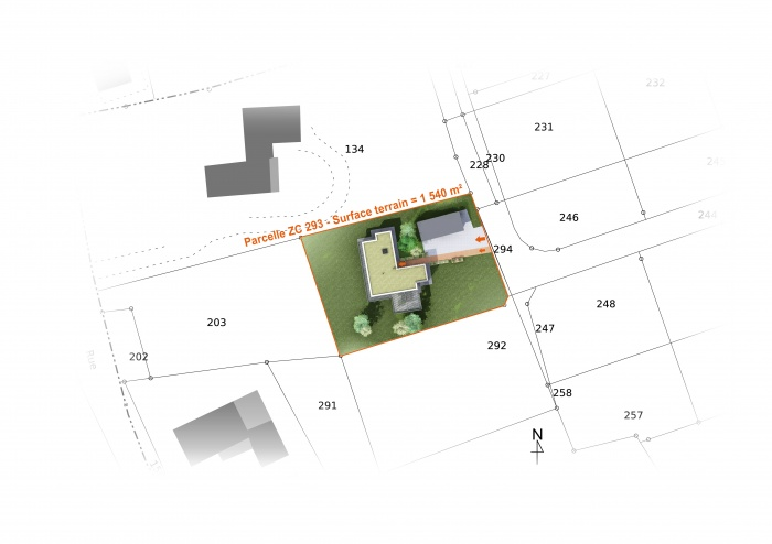 Habitat Individuel / Basse énergie / Béton cellulaire : p1