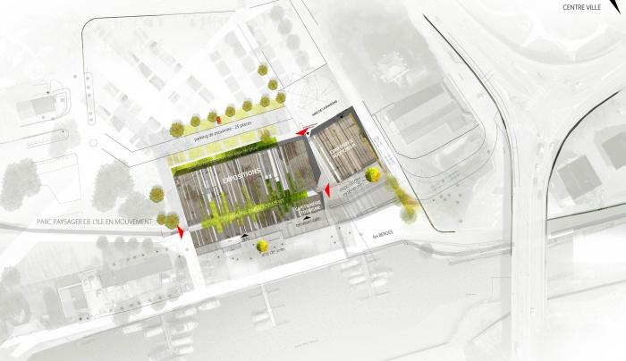mvt25 construction centre culturel montb liard une r alisation de tnt architecture. Black Bedroom Furniture Sets. Home Design Ideas