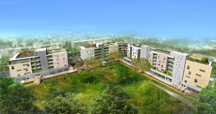 Concours-construction de 90 logements et commerces : pers2