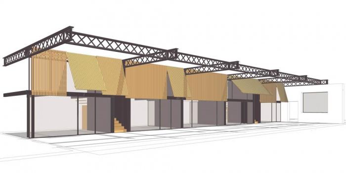 transformation d'un local industriel en bureaux : AAK_facade-ouverte_pers