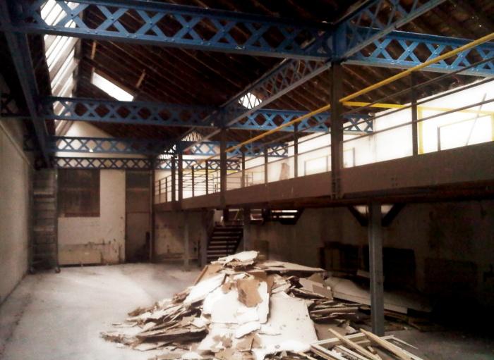 transformation d'un local industriel en bureaux : AAK_ph-chantier01