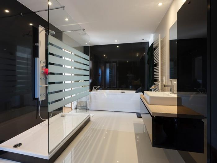 Maison BBC ossature bois à Lyon : architecte lyon maison contemporaine ossature bois