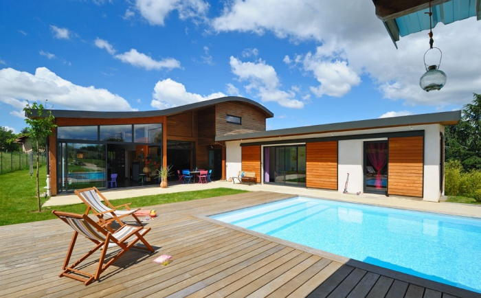 Maison contemporaine bois & béton : 03_VANE