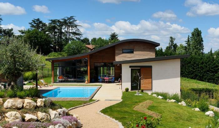 Maison contemporaine bois & béton : 20_VANE
