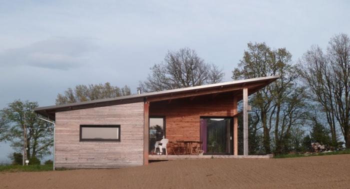 Maison bois bioclimatique / Basse énergie