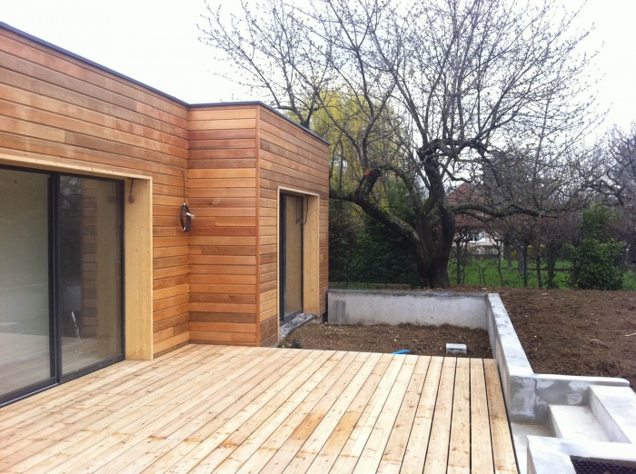 Extension Ossature bois : extension2