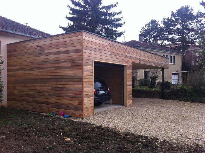 Extension Ossature bois : extension4