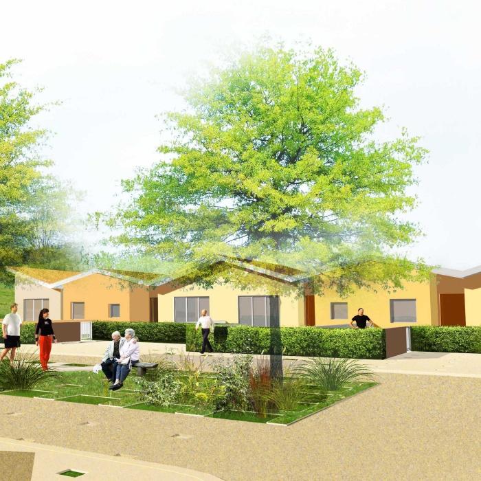 Lotissement Seniors: 8 maisons individuelles : 301-VUE2_1