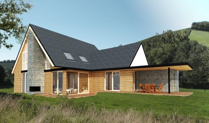 Maison ossature bois : Mentz 7