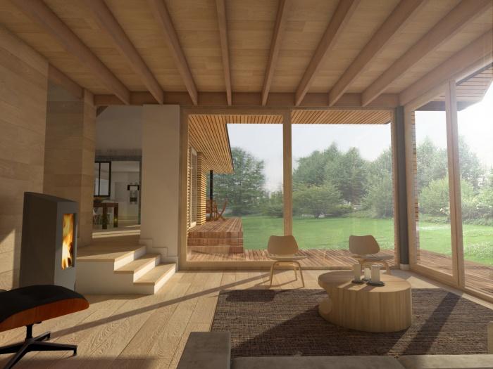Maison ossature bois : Mentz 3