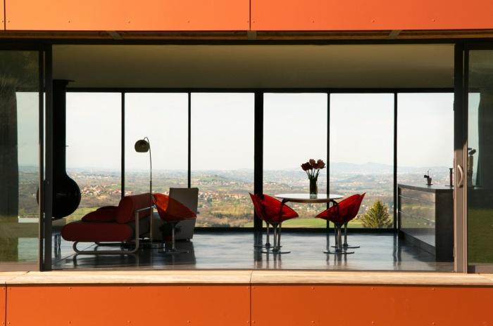 Maison contemporaine bois & paille : Maison GALLET ARCHITECTES_05