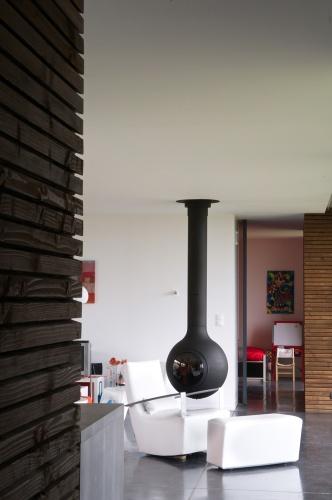 Maison contemporaine bois & paille : Maison GALLET ARCHITECTES_07