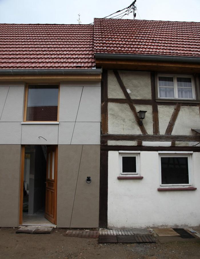 Extension et Rénovation d'une maison alsacienne à REICHSTETT (67) : IMAGE 02