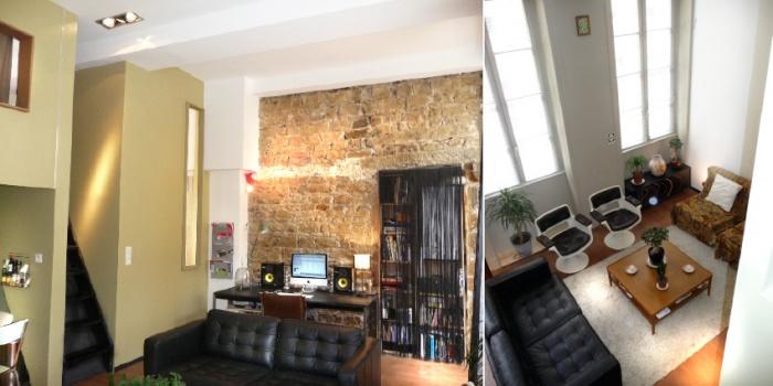 Démolition / rénovation contemporaine / réorganisation d'un appartement