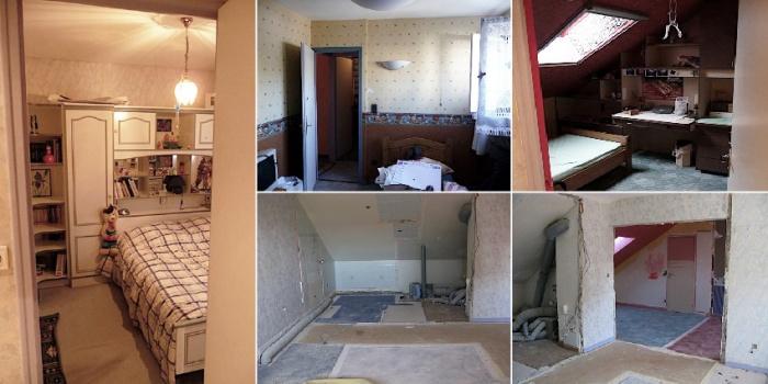 rénovation et aménagement Contemporain complet d'une partie d'une maison : projet_lieu4