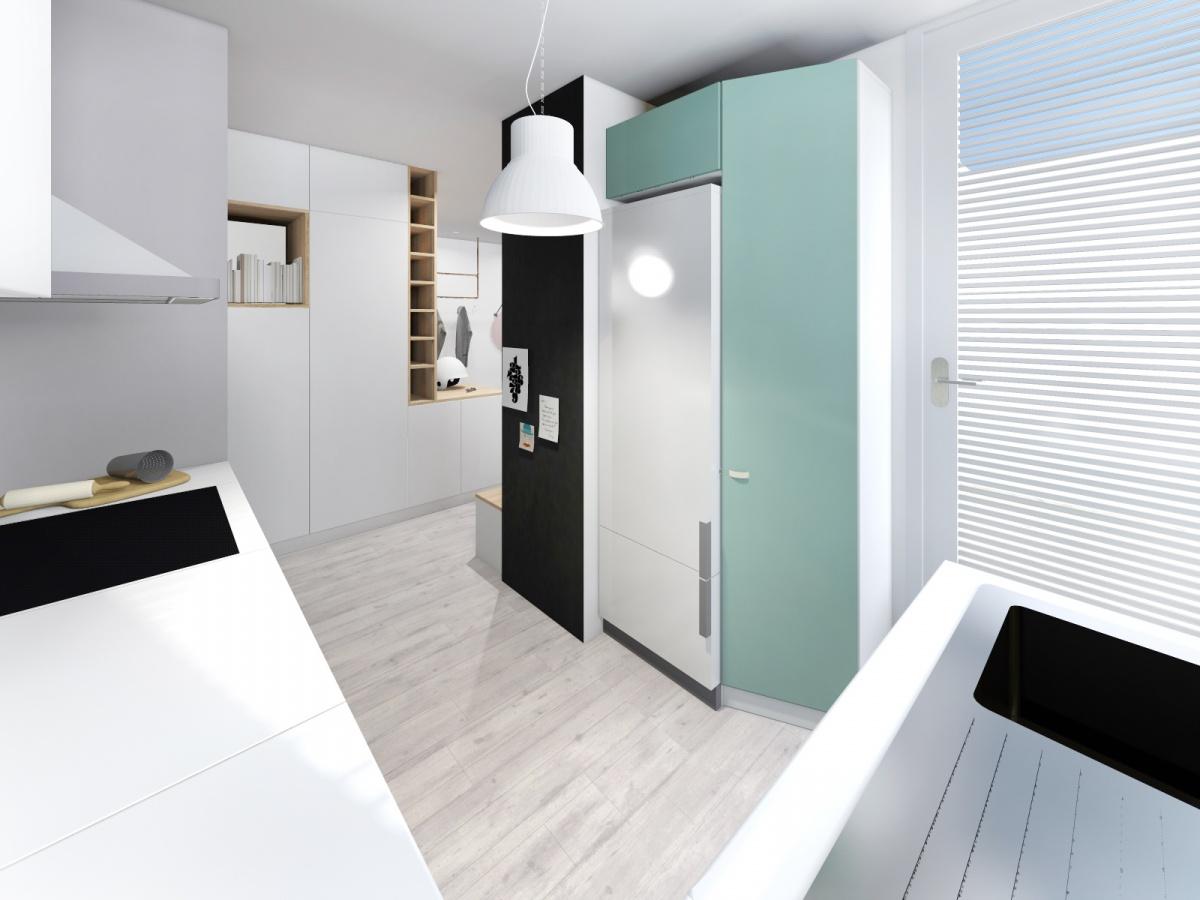 Rénovation d'un appartement de 65m² : cuisine